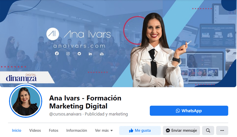 Ana Ivars auditoria de redes sociales